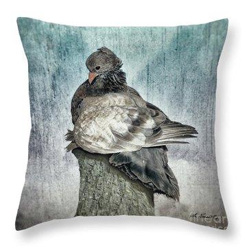 Maragold Throw Pillow
