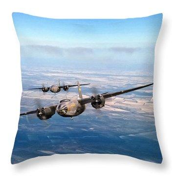 Marauder Twoship Throw Pillow