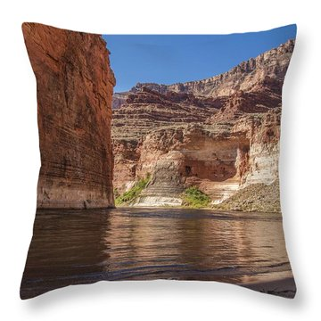 Marble Canyon Grand Canyon National Park Throw Pillow