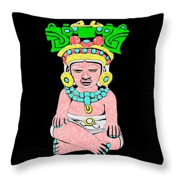 Marble Maya Throw Pillow