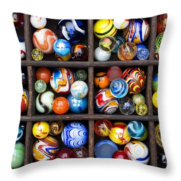 Marbleous Throw Pillow