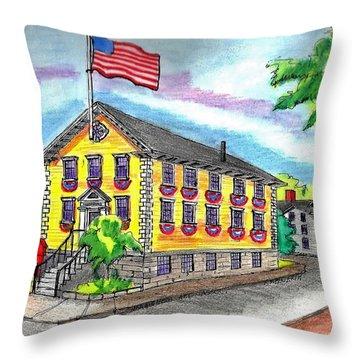 Marblehead Icon Throw Pillow