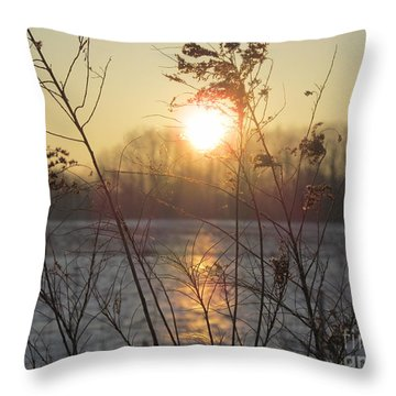 March 2 2013 Sunrise Throw Pillow