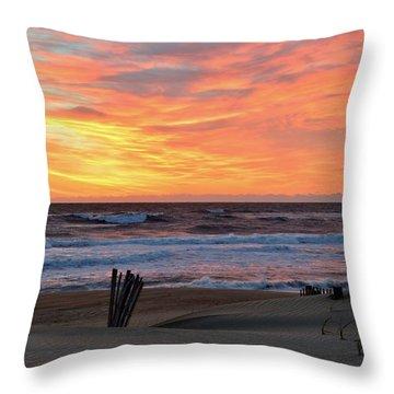 March 23 Sunrise  Throw Pillow