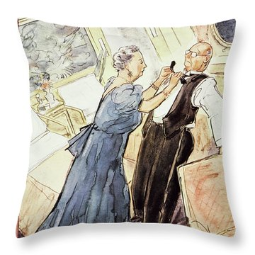 March 24 1956 Throw Pillow