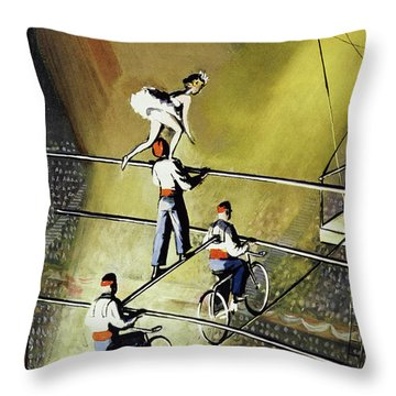 March 27 1954 Throw Pillow