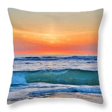 March Sunrise 3/6/17 Throw Pillow