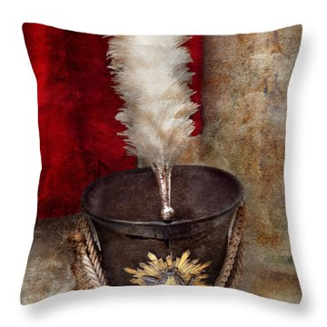 Marching Band - Celebrating The Marching Band Throw Pillow by Mike Savad