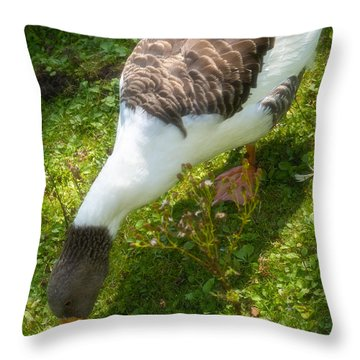 Marching Throw Pillow by Wim Lanclus