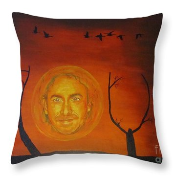 Marco Borsato Throw Pillow