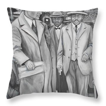Marcus Garvey Throw Pillow