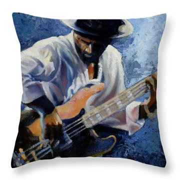 Marcus  Throw Pillow