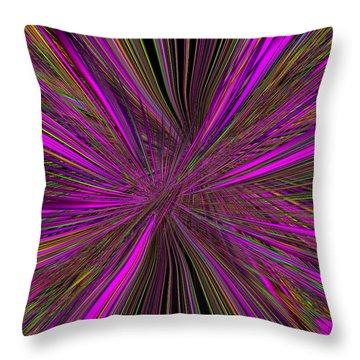 Mardi Gras Throw Pillow by Tim Allen