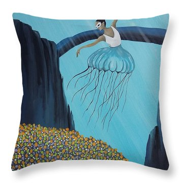 Mare Ballerina Throw Pillow