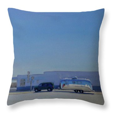 Marfa Texas Throw Pillow