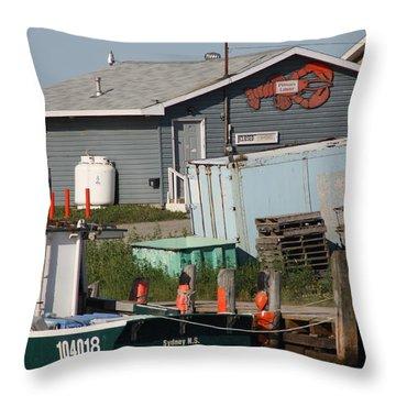Margaree Harbor Throw Pillow