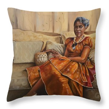 Margaret  Throw Pillow