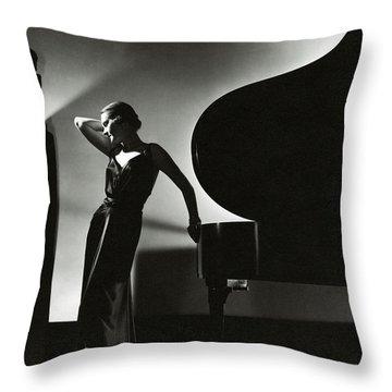 Keyboard Instrument Throw Pillows