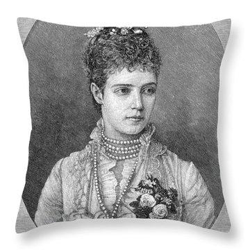 Maria Fyodorovna Throw Pillow by Granger