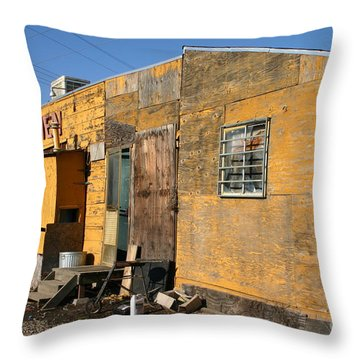 Maria S Kitchen Throw Pillow by Marie Neder