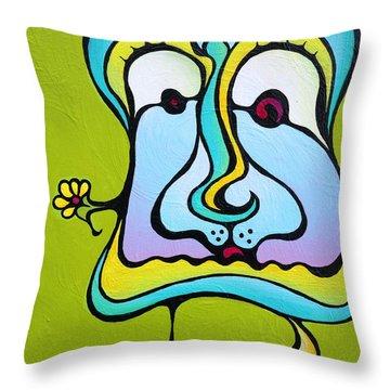 Marie Antoiletee Throw Pillow