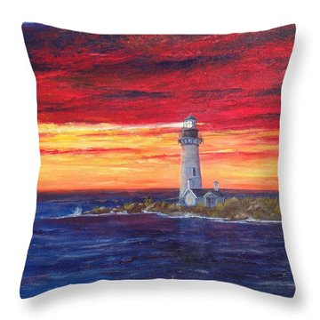 Marien's View Throw Pillow