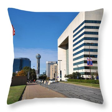 Marilla St. Throw Pillow
