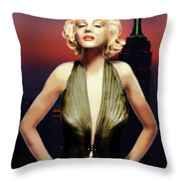 Marilyn Forever Throw Pillow