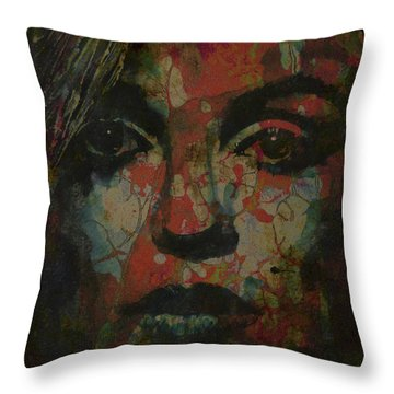 Pin Up Girl Throw Pillows