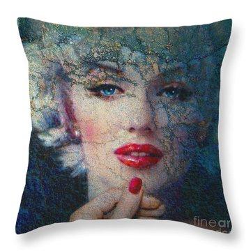 Marilyn Monroe 132 A Throw Pillow