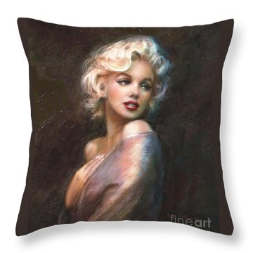 Marilyn Ww Classics Throw Pillow
