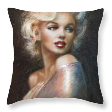 Marilyn Ww Soft Throw Pillow