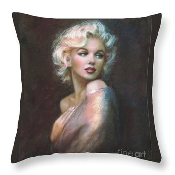 Marilyn Ww  Throw Pillow