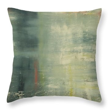 Venetian Lagoon Throw Pillow