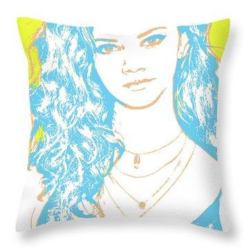 Marina Nery Pop Art Throw Pillow