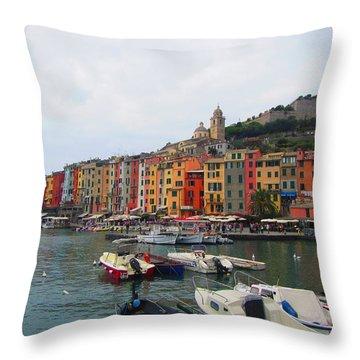 Marina Of Color Throw Pillow
