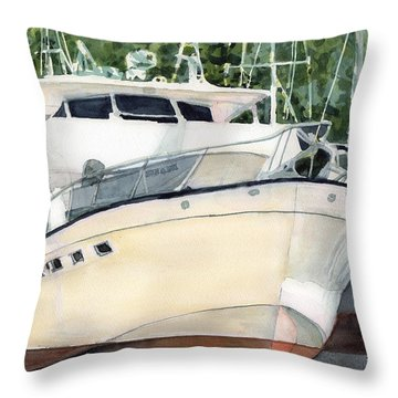 Marina Queen Throw Pillow
