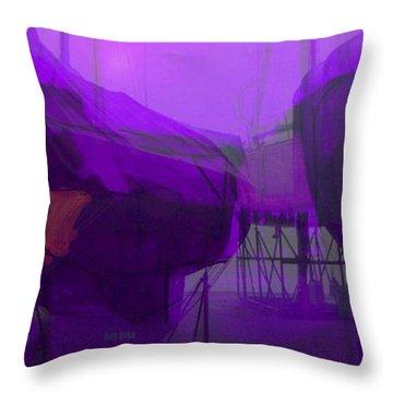 Marina Shapes Throw Pillow