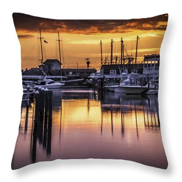 The Floating Sky Throw Pillow
