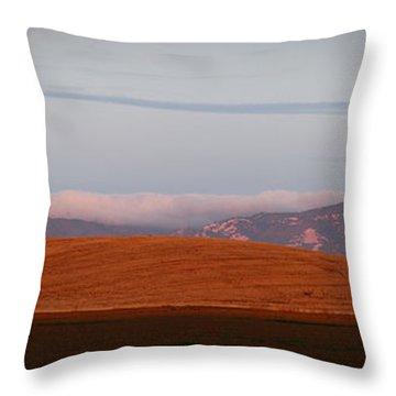Marine Layer Throw Pillow