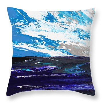 Mariner Throw Pillow by Ralph White
