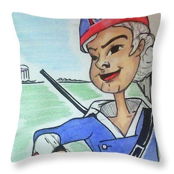 Marion Jr Throw Pillow