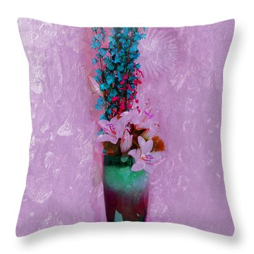 Mariposa Throw Pillow by Don Wright