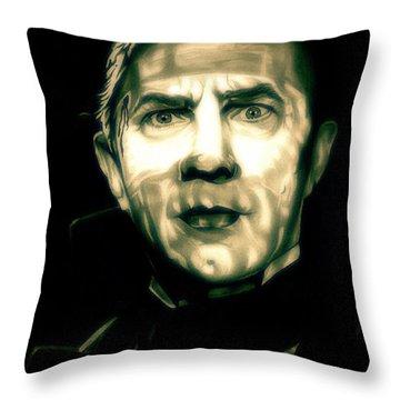 Mark Of The Vampire Throw Pillow