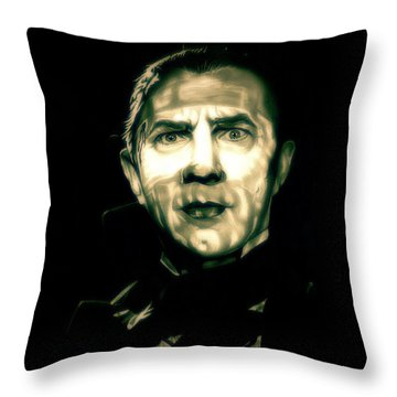 Mark Of The Vampire Throw Pillow