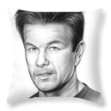 Mark Wahlberg Throw Pillow