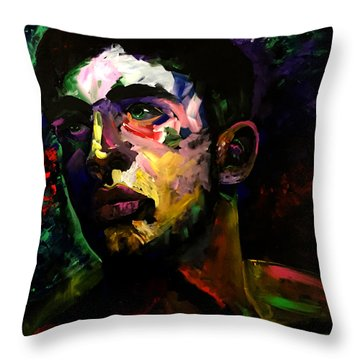 Mark Webster Artist - Dave C. 0410 Throw Pillow