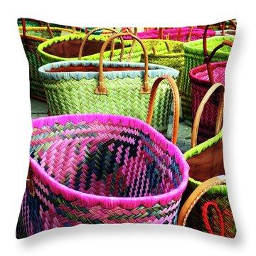 Market Baskets - Libourne Throw Pillow