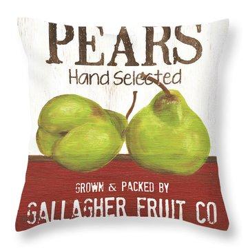 Market Fruit 1 Throw Pillow