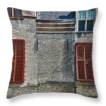 Markiezenhof In Bergen Op Zoom Throw Pillow